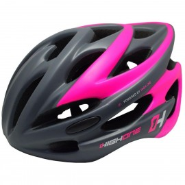 CAPACETE POWERED BY HIGHONE CINZA/ROSA